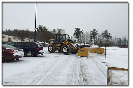 Commercial Snow Removal Services Southern Maine